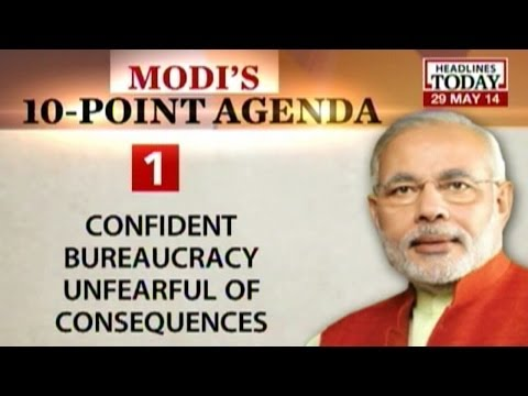 The 10-point charter by Modi