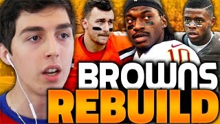 REBUILDING THE CLEVELAND BROWNS WITH RG3! MADDEN 17 CONNECTED FRANCHISE