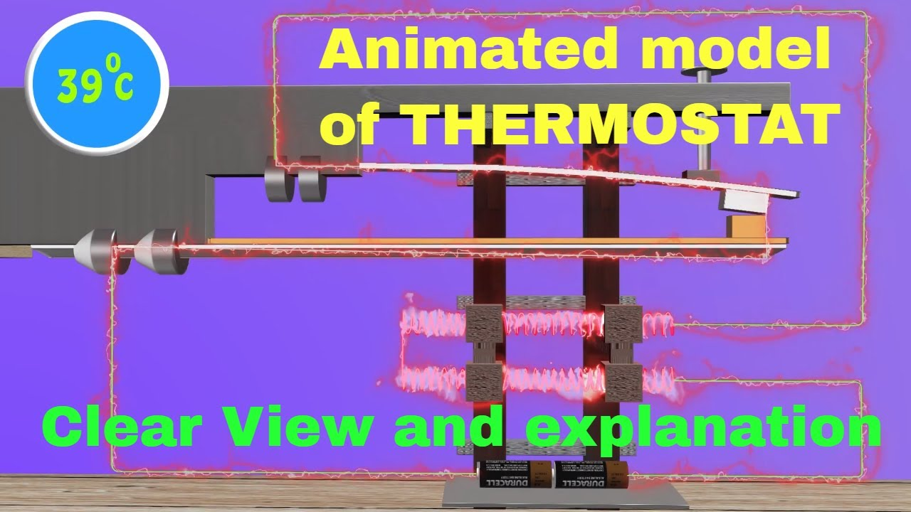 Physics tutor how do thermostats work youtube physics tutor how do thermostats work sciox Choice Image