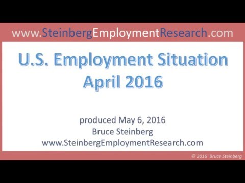 Latest Employment and Job Trends and News (April 2016)