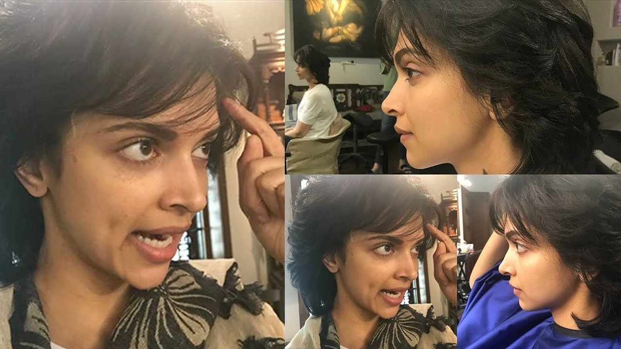 Deepika Padukone New Look For Her Upcoming Movie With ...