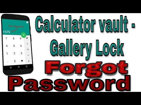 Photo And Video Locker Apk | Forgot Password