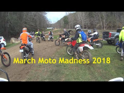 March Moto Madness 2018 - Tellico, TN - Friday guided dirt bike, dual sport ride. CRF 230F