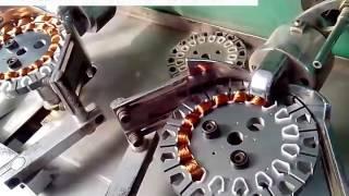 How to make ceiling fan- AC ceiling fan motor winding machine