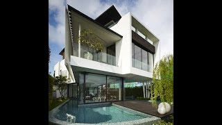 Amazing Modern House Design - House With Black And White Concepts