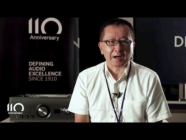 Denon 110 Anniversary – Interview with DL-A110 Sound Engineer