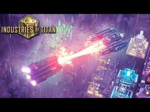 INDUSTRIES OF TITAN   Ep 2  NEW CITY BUILDER Factory Colony with Impressive Ship Building #Sponsored