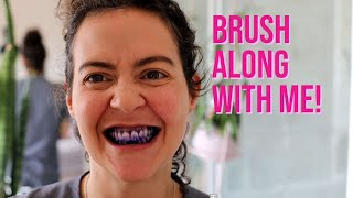 How to clean your teeth? Part 1 Video 3: Brush with me!