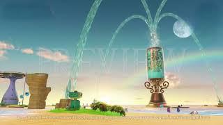 Super Mario Odyssey (Seaside Kingdom) - 4K 60FPS Looping Background by Henriko Magnifico