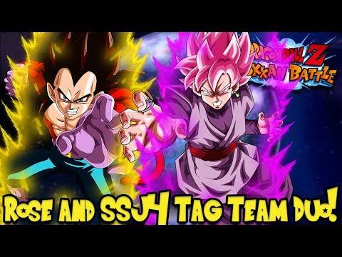 SUPER SAIYAN 4 AND ROSÉ TEAM-UP! BEST AGL TEAM!   Dragon Ball Z Dokkan Battle BOSS RUSH SUPER 3