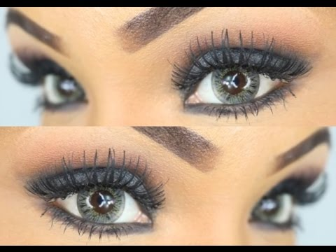 smokey eyes schminken tutorial black. Black Bedroom Furniture Sets. Home Design Ideas