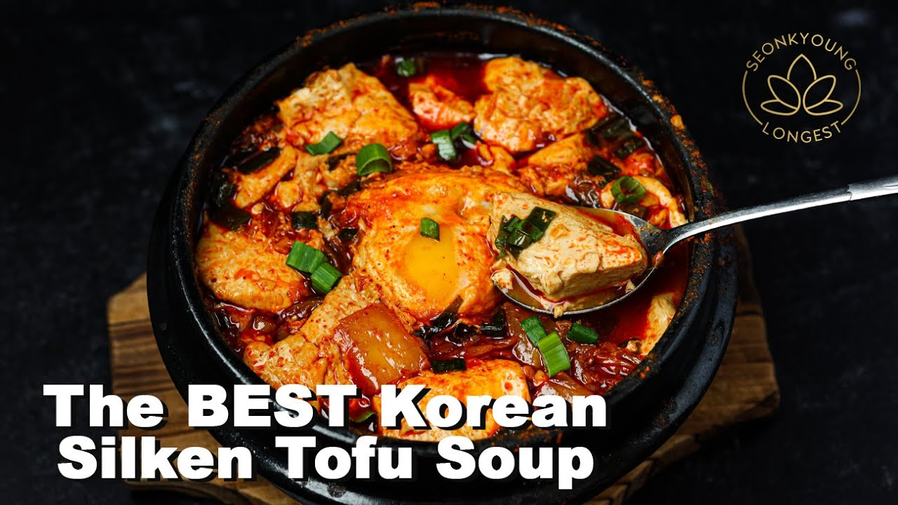 The BEST Korean Silken Tofu Soup | Authentic Korean Tofu Soup Recipe