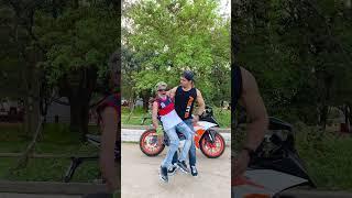 Yeh to DHOKA hogaya yaar 😫😭 #bikers #superbikers #ktm #funny