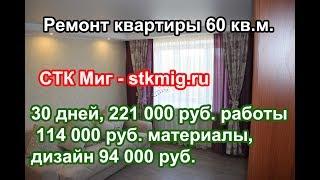 60 kvadrat metr doira ta'mirlash. m. - STK MiG
