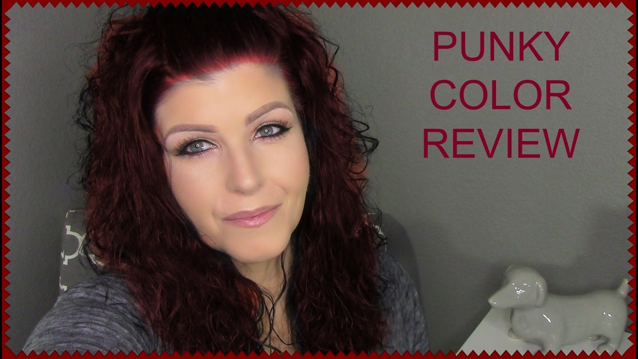 Punky Hair Color Review Youtube