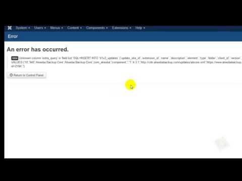How to Fix 1054 Unexpected Column Error in Joomla!™ 3 Easily
