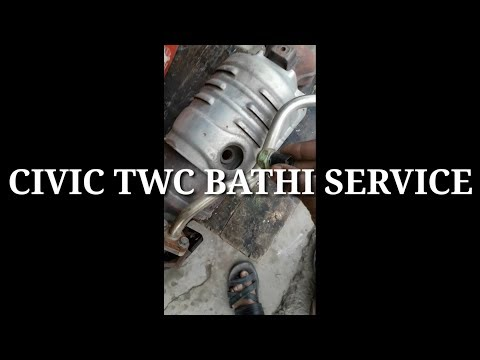 How to Clean Your Car's Catalytic Converter using Lacquer Thinner | twc service| bhati service