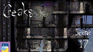 Creaks: Scene 17 Walkthrough & iOS Apple Arcade Gameplay (by Amanita Design)