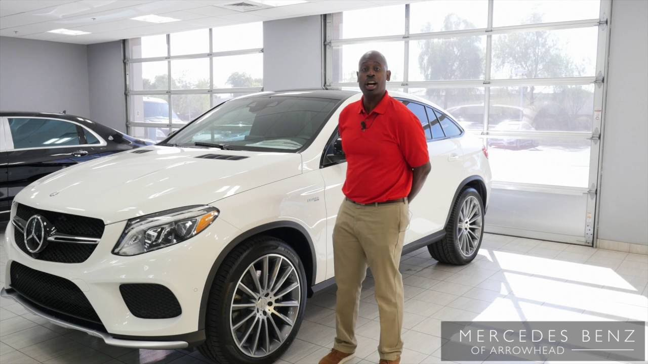 See The Polar White 2017 Mercedes Benz Gle Amg Gle43 From Of Arrowhead You
