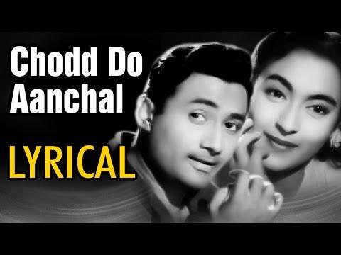 Chodd Do Aanchal With Lyrics | Paying Guest | Dev Anand, Nutan, Kishore Kumar, Asha | Romantic Song