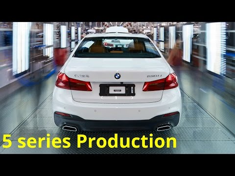 2017 BMW 5 series Production
