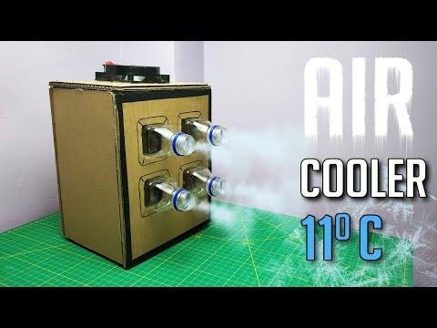 How to Make Powerful Air Cooler at Home | Homemade Air Conditioner