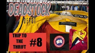 TRIP TO THE THRIFT #8 - PELLE PELLE, TOMMY HILFIGER, CANADA GOOSE, AND TONS OF VINTAGE GEAR!