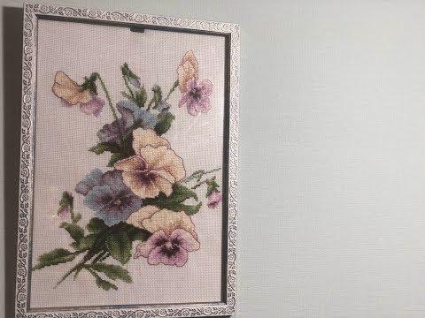 Как затянуть картину в рамку/ Оформление вышивки своими руками