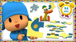 🧩️ POCOYO in ENGLISH - Puzzles for kids [ 94 minutes ] | Full Episodes |VIDEOS and CARTOONS for KIDS
