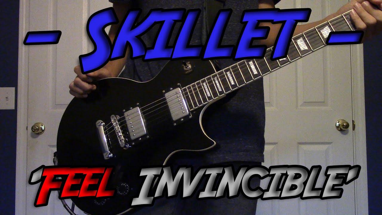 39 feel invincible 39 skillet guitar cover w solo youtube. Black Bedroom Furniture Sets. Home Design Ideas