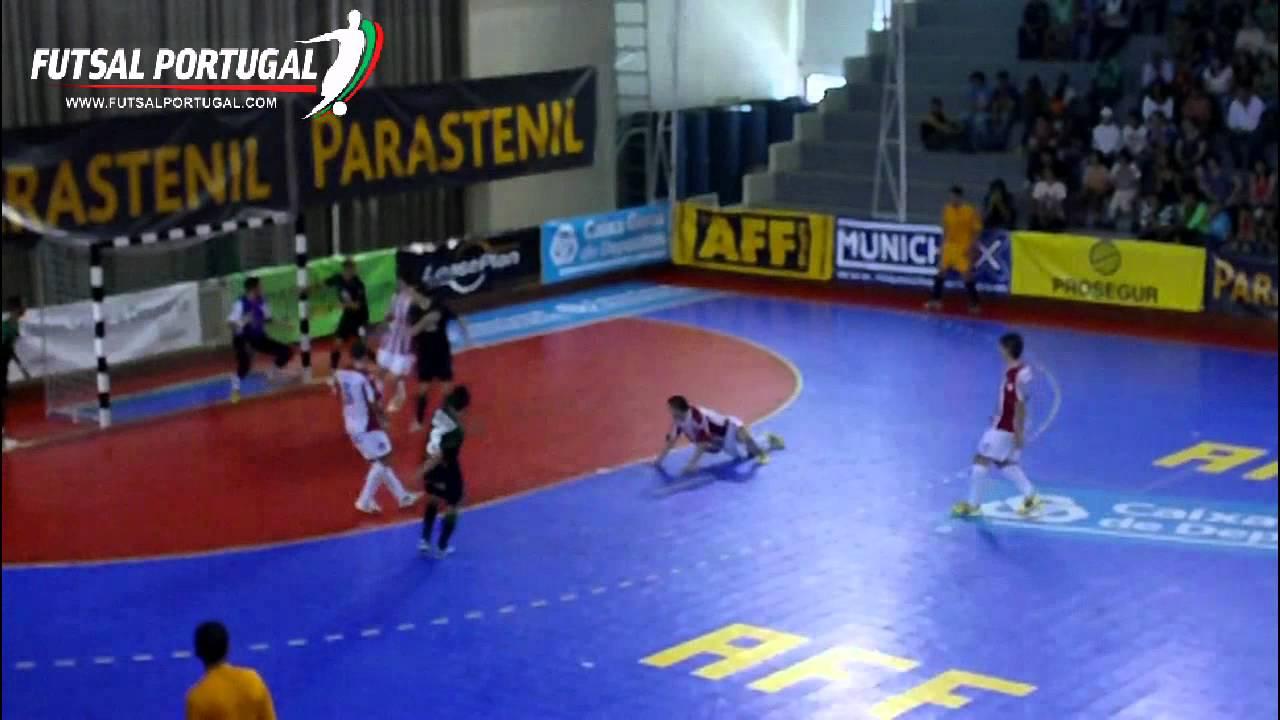 Futsal ::  Play-off Q/F 2º Jogo :: Sporting - 5 x Boticas - 2 de 2010/2011