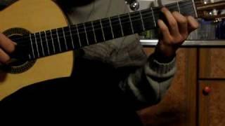 S.E.N.S - Like a wind. classical guitar solo