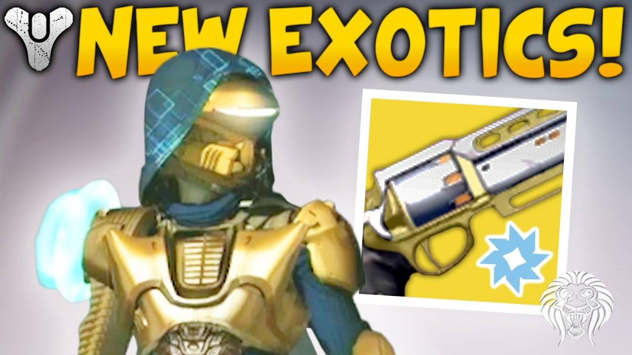 destiny: age of triumph info! exotic elemental primaries, new