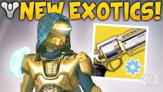 Destiny: AGE OF TRIUMPH INFO! Exotic Elemental Primaries, New Rewards & Update Patch 2.6.0
