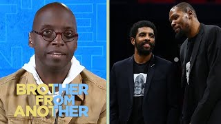 Kyrie Irving shows jealousy of LeBron on Kevin Durant's podcast | Brother from Another | NBC Sports
