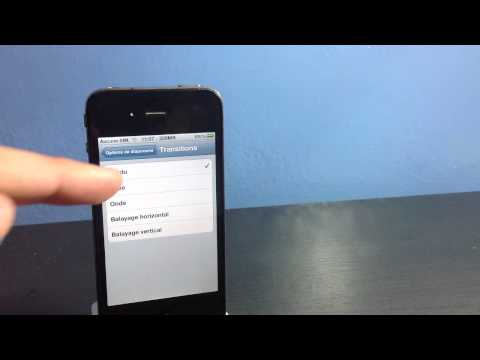 Faire un diaporama sur iphone - montage vidéo photos iphone