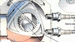 видео Роторный двигатель внутреннего сгорания