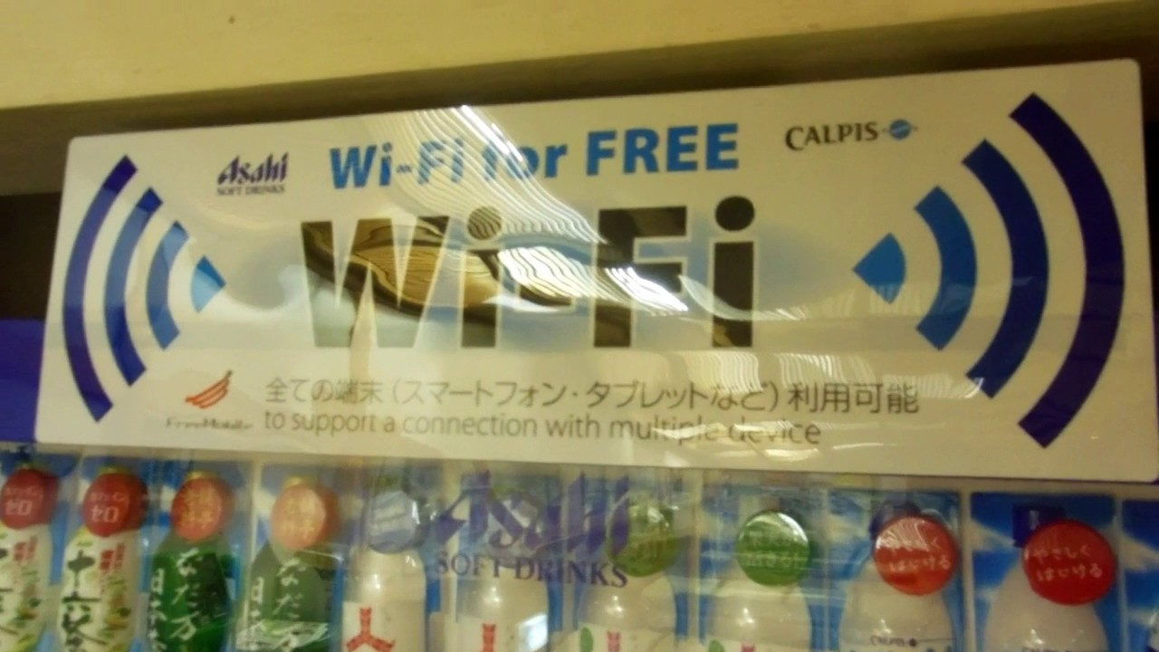 how to get free wifi in japan