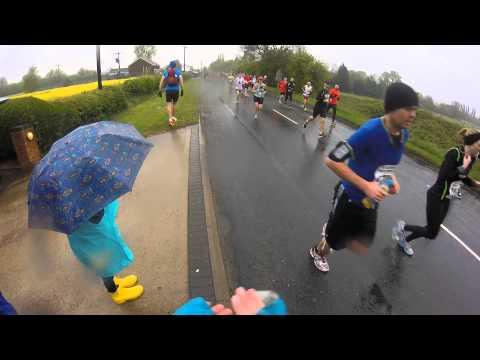 North Lincs 1/2 Marathon 2015 - Scotter Road.
