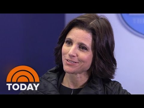 Julia Louis-Dreyfus On 'Veep,' The Real 2016 Campaign, And Her Cursing | TODAY