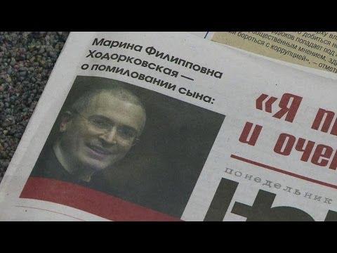 Khodorkovsky flies to