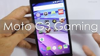 Moto G3 3rd Gen Gaming Review with Heavy Games