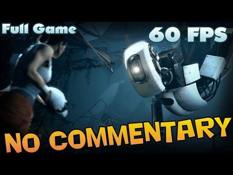 Portal 2 - Full Game Walkthrough  【60 FPS】 【No Commentary】