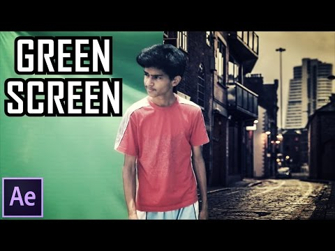► How to: Green Screen // Chroma Key Techniques | Remove Background | Adobe After Effects | 2017