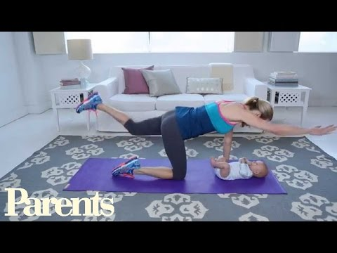Exercise With Baby: Building Core Strength   Parents