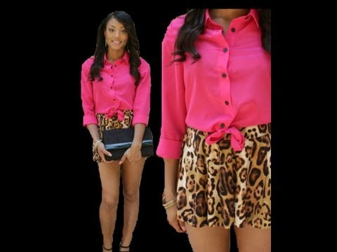 Sassy Saturdays: OOTD- From Sassy to Classy (Pink & Leopard)