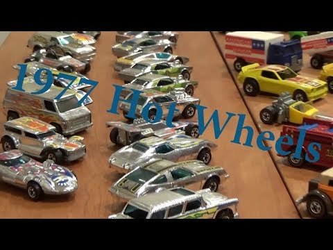 1977 Hot Wheels - Vintage Redline and Blackwall collection