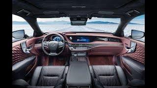 New Lexus LS 500h Concept 2018 - 2019 Review, Photos, Exhibition, Exterior and Interior