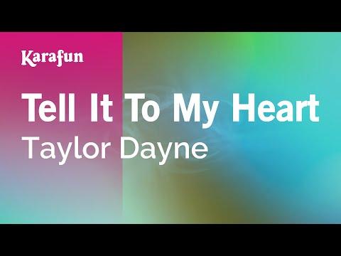 Karaoke Tell It To My Heart - Taylor Dayne *