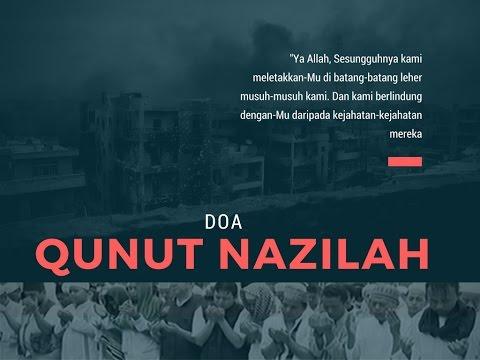 Doa Qunut Nazilah Lengkap